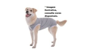 Roupa Pós-Cirúrgica Mi Au para Cães unissex- tamanho  3 (5,5 á 7kg - 34 á 37cm)