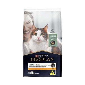 Ração Purina Proplan Gato Adulto Live Clear 1kg