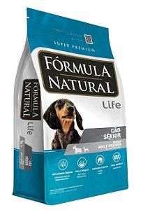 Ração Fórmula Natural Cães Sênior Porte Mini e Pequeno 7kg