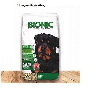 Ração Bionic sabor carne para todas as raças 15kg