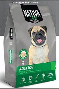 Ração premium Nativa cães adulto pedaços pequeno 10,1kg