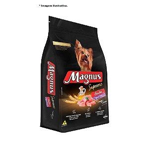 Ração Magnus Supreme para Cães Adultos de Pequeno Porte Sabor Frango e Cereais 15 kg