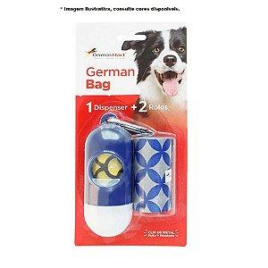 Kit cata caca German Bag 1 dispenser + 2 Rolos