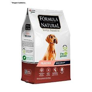 Ração Fórmula Natural Super Premium para Cães Filhotes Raças Médias e Grandes 7kg