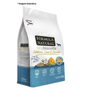 Biscoito Fórmula Natural Dog Biscuits Abóbora, Coco e Quinoa para Cães Adultos 250g
