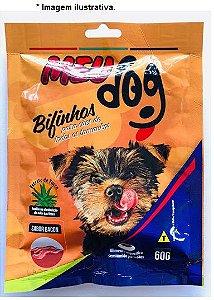 Bifinhos Meu Dog sabor Bacon para cães 60gr
