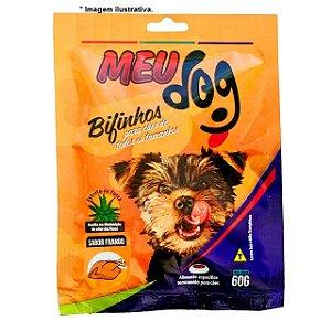 Bifinhos Meu Dog sabor Frango para cães 60gr