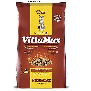 Ração Premium Especial VittaMax Gatos Carne 10,1kg