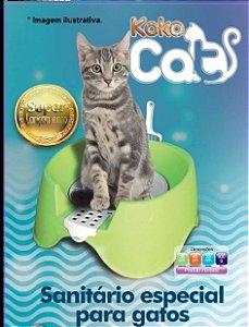 Banheiro Sanitário aberto com pazinha para gatos KOKO  Cat  Mec Pet