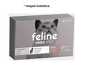 Vermífugo para Gatos  Endo Spot Labyes 0,40ml até 2kg