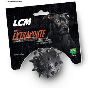 Brinquedo Bola Maciça com cravo G LCM - Extraforte