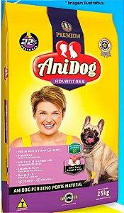 Ração Premium AniDog Advantage Pequeno Porte 25kg