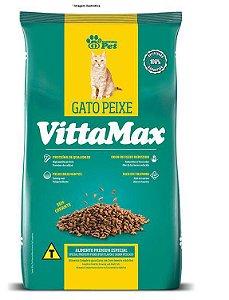 Ração Premium Especial VittaMax para Gato Adulto e Filhotes Peixe 10,1kg