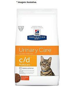 Ração Hill's Feline C/D Multicare 1,8kg