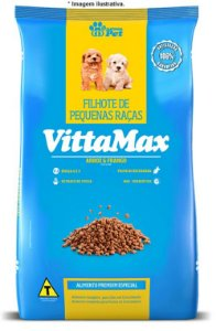 Ração Premium Especial Vittamax Cães Filhotes Pequenas Raças 10,1kg