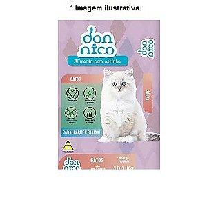 Ração Don Nico para Gatos adultos sabor Carne e Frango 10,1kg