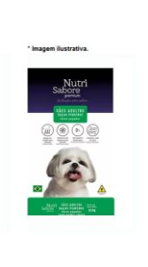 Ração NutriSabore Premium Adulto Raças Pequenas sabor carne e frango 10,1kg