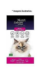 Ração Nutrisabore Premium Gatos todas as Raças Sabor Carne e Frango 10,1kg