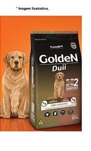 Ração Golden Duii Cães Adulto Frango e Carne 10,1kg