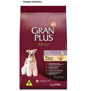 Ração Affinity GranPlus Menu Frango e Arroz para Cães Sênior Mini 10,1kg