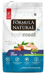 Ração Fórmula Natural Fresh Meat Cães Sênior Portes mini e pequeno 7kg