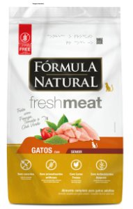 Ração Fórmula Natural Fresh Meat Gatos Sênior 7kg