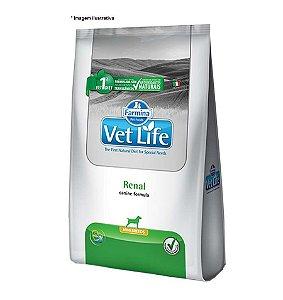 Ração Farmina Vet Life Natural Renal Mini Breeds para Cães 10,1kg