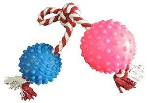 Brinquedo Bola Cravo Dupla com Corda G