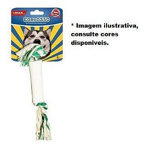 Brinquedo para Cães Cordosso Médio - Osso com Corda