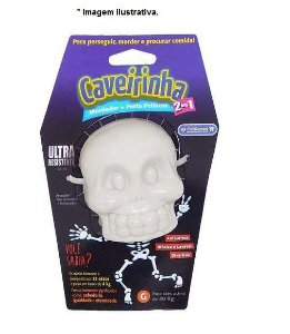 Brinquedo Mordedor Caveirinha G nylon durável
