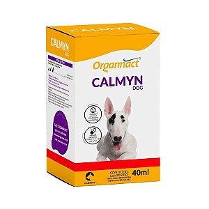 Organnact Suplemento Mineral Calmyn Dog 40ml Calmante