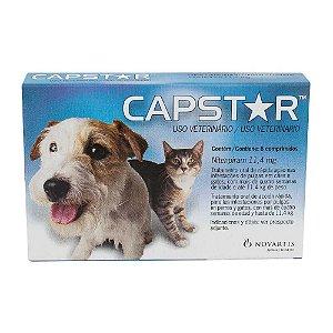 Antipulgas Novartis Capstar 11 mg para Cães e Gatos até 11,4 Kg 6 comprimifdos