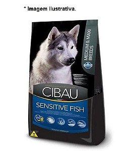 Ração Farmina Cibau Sensitive Fish para Cães de Raças Médias e Grandes 12kg