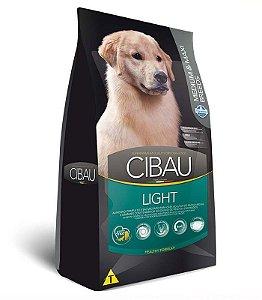 Ração Farmina Cibau Light para Cães Adultos de Raças Médias e Grandes 12kg