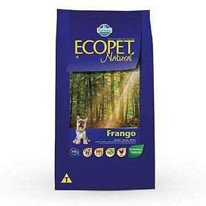 Ração Farmina Ecopet Natural Frango para Cães Adultos de Raças Pequenas 15kg