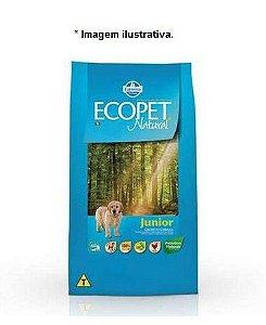 Ração Farmina Ecopet Natural Júnior para Cães Filhotes 3kg
