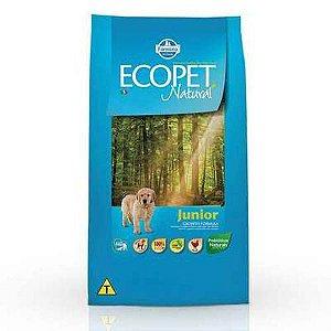 Ração Farmina Ecopet Natural Junior para Cães Filhotes de Raças Médias e Grandes 3kg
