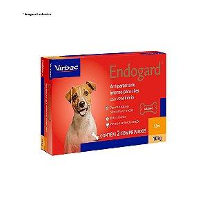 Vermífugo Virbac Endogard para Cães até 10kg 2 comprimidos