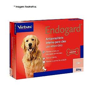 Vermífugo Virbac Endogard para Cães até 30Kg - 2 comprimidos