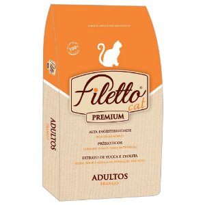 Ração Filetto Cat Frango Premium 25kg