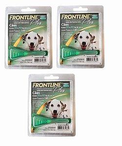 Antipulgas e Carrapatos Frontline Plus para Cães de 20 a 40 Kg 3 unidade combo