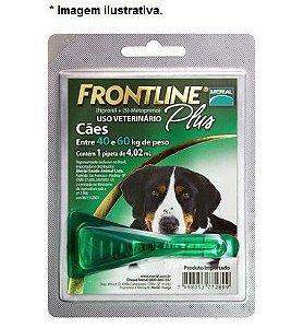 Antipulgas e Carrapatos Frontline Plus para Cães de 40 a 60 Kg 1 unidade