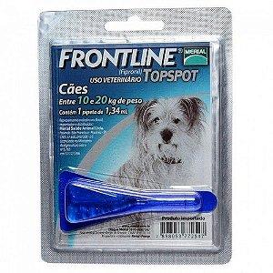 Antipulgas e Carrapatos Frontline Top Spot para Cães de 10 a 20 Kg 1 unidade