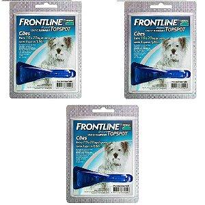 Antipulgas e Carrapatos Frontline Top Spot para Cães de 10 a 20 Kg  3 unidade