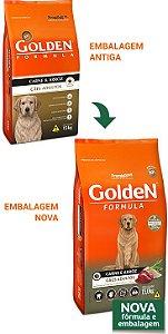 Ração Golden Formula Cães Adultos Carne e Arroz 15kg