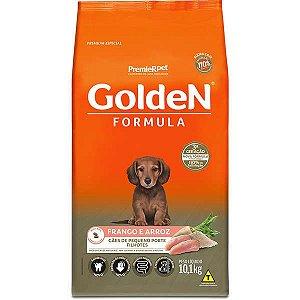 Ração Golden Formula Cães Filhotes Mini Bits Frango e Arroz 10,1kg