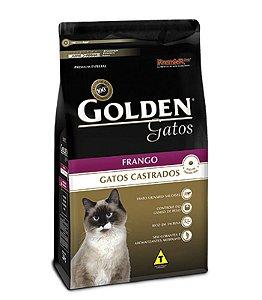 Ração Golden Gatos Adultos Castrados Frango 10,1kg