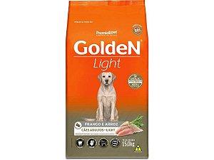 Ração Golden Cães Adultos Light Frango e Arroz 15kg
