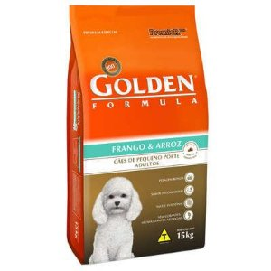 Ração Premier Golden Formula Cães Adultos Frango e Arroz Mini Bits 15kg