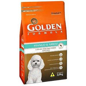 Ração Premier Golden Formula Cães Adultos Frango e Arroz Mini Bits 3kg